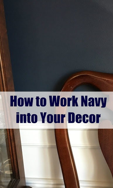 How to Work Navy into Your Decor - Paint Color Options