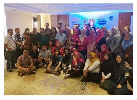 Workshop Konten Kreatif Hankam dan Sharing Informasi di Era Digital