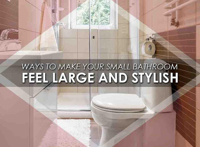 How you can make your bathroom look good?