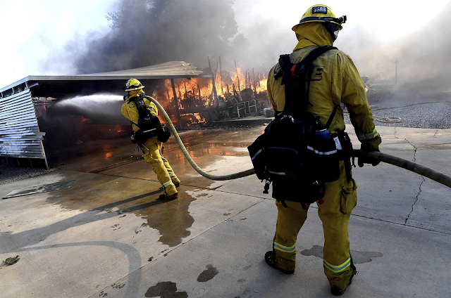 Garbage truck driver arrested in California Sandalwood fire that killed two people