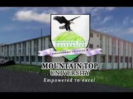 Mountain Top University Postutme Form 2020