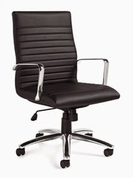 Offices To Go Ribbed Back Conference Chair