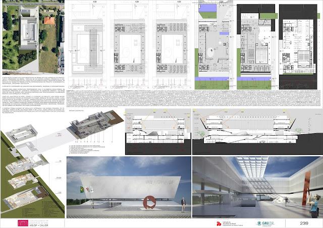 Bruno Oliveira Arquiteto IAB CAU DF prancha