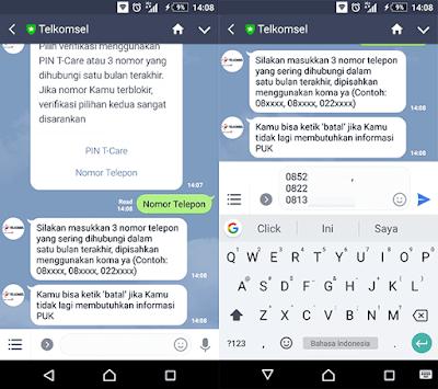 Cara Mendapatkan Kode PUK Telkomsel Beserta Fungsi