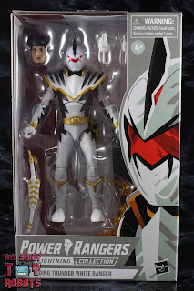 Power Rangers Lightning Collection Dino Thunder White Ranger Box 01