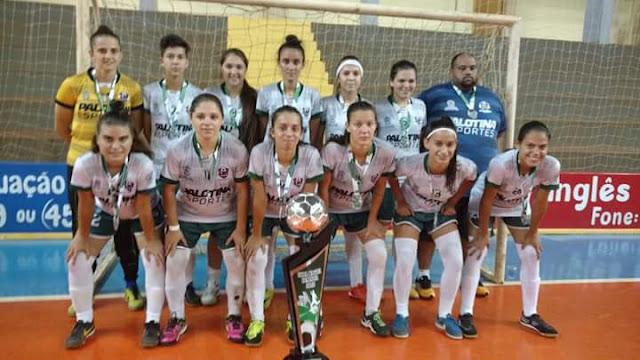 ddd446f62168b As atletas do A.U.F de Cascavel obtiveram um excelente resultado na Copa  Kagiva de Futsal Feminino