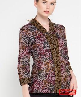 model baju batik atasan wanita terbaru 2019