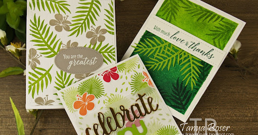 Inky Friends: Tropical Chic