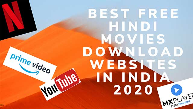 Best Free Hindi Movies Download Websites in India 2020