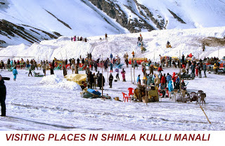 VISITING PLACES IN SHIMLA