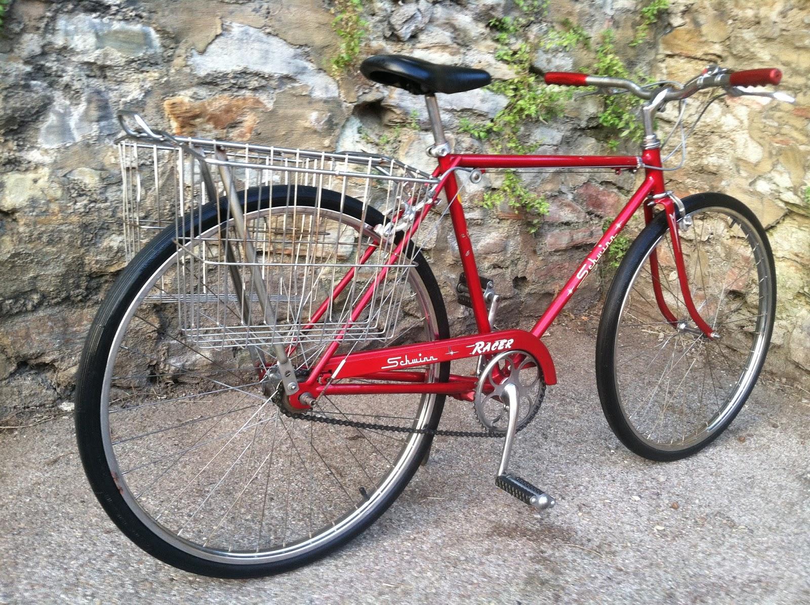 f31c6cf68d4 ... aluminum riser bars from a 90's Schwinn mountain bike and an early 80  Schwinn Messinger BMX saddle (original bars, fenders and Schwinn comfort  seat will ...