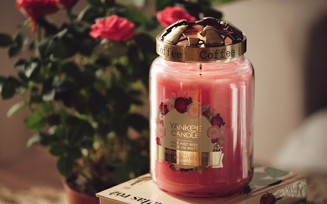 Na dobry powrót... Salt Mist Rose Yankee Candle - Czytaj więcej »