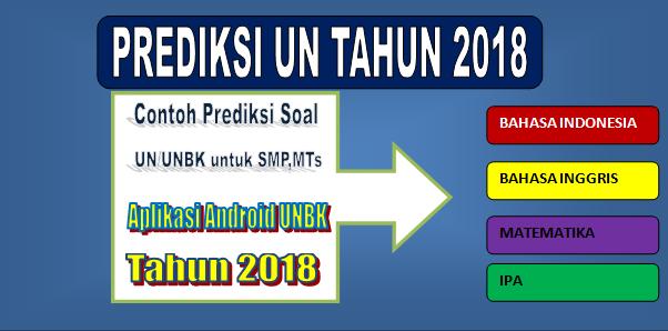 Prediksi Soal UN/UNBK untuk SMP,MTs