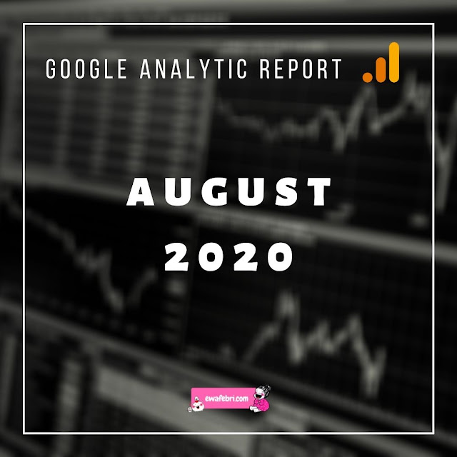 Google Analytic Report August 2020