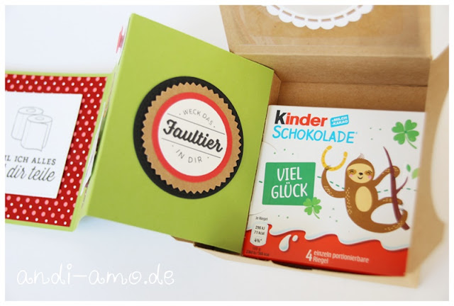Leporello in der Box Stampin Up Faultier andi-amo
