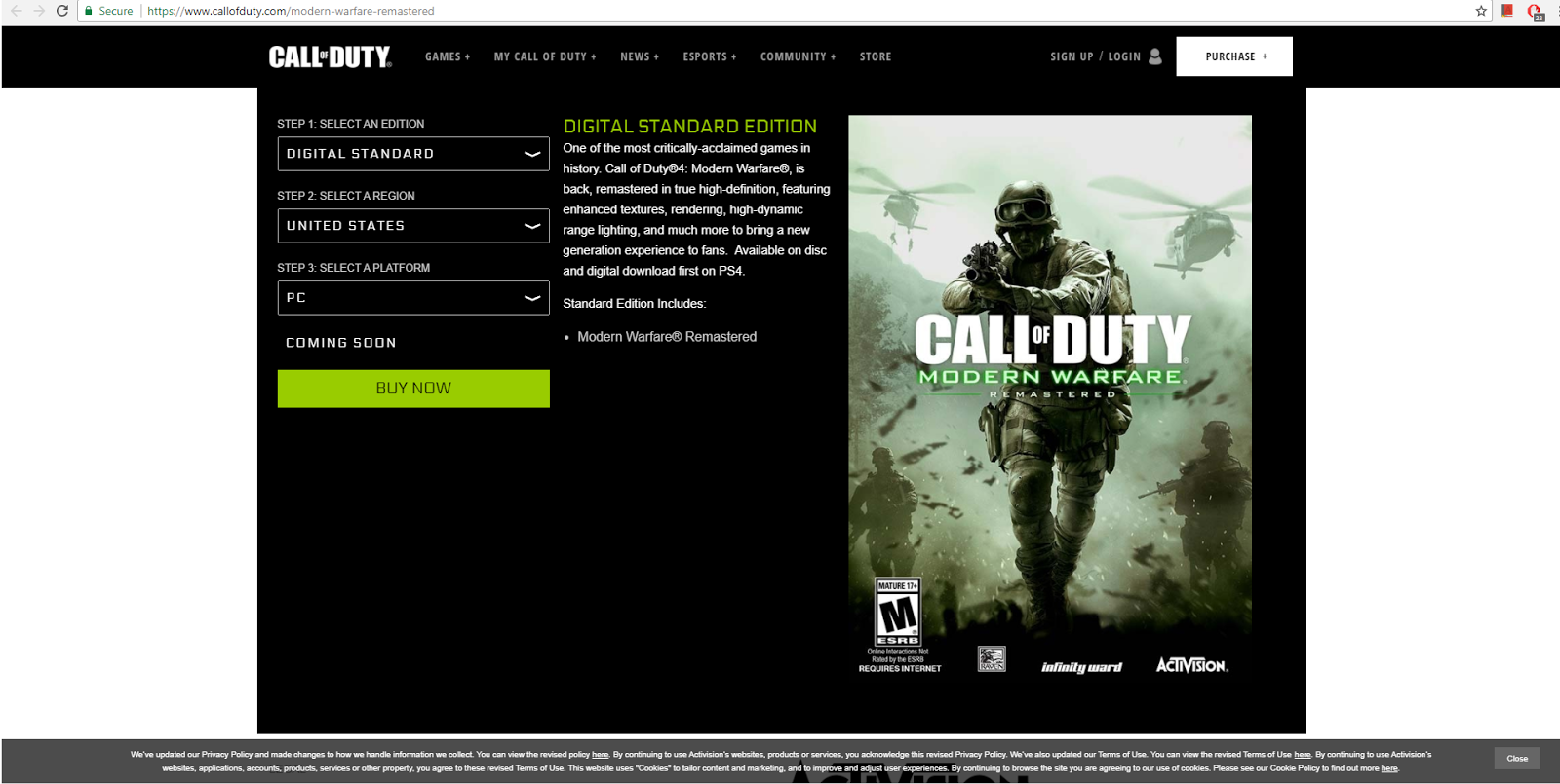 call of duty 4 modern warfare mp crack 1.7 download