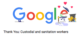 Google Doodle | Coronavirus 2020