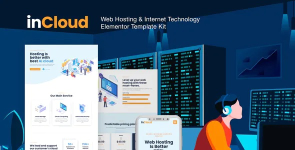 Best Web Hosting Elementor Template Kit