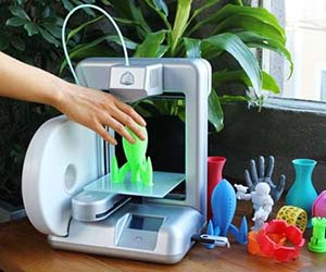 Unleash your creativity and make your ideas come to life with the at home 3D printer. This remarkable printer allows you to print 3D objects of pretty much anything you can imagine. You'll never have to buy another gift again, because now you can print it instead!