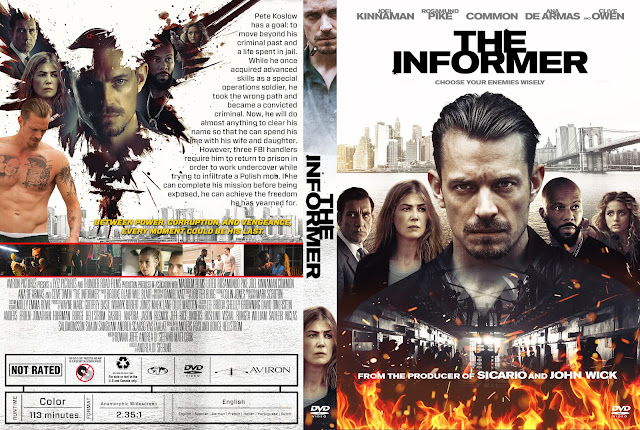 The Informer DVD Cover