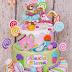 Tort de botez candy pentru Alexia Elena