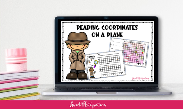 Reading and graphing Coordinates on a Plane Resourse