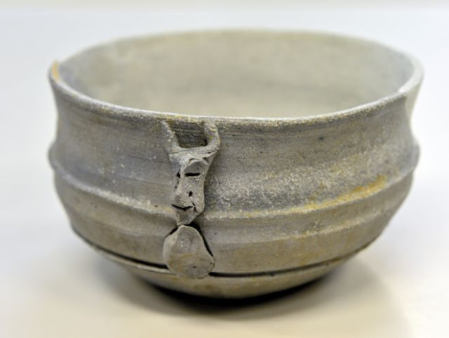 Horned face adorns rare 5th century cup found in Osaka