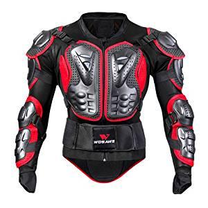 Chaqueta protección motocross