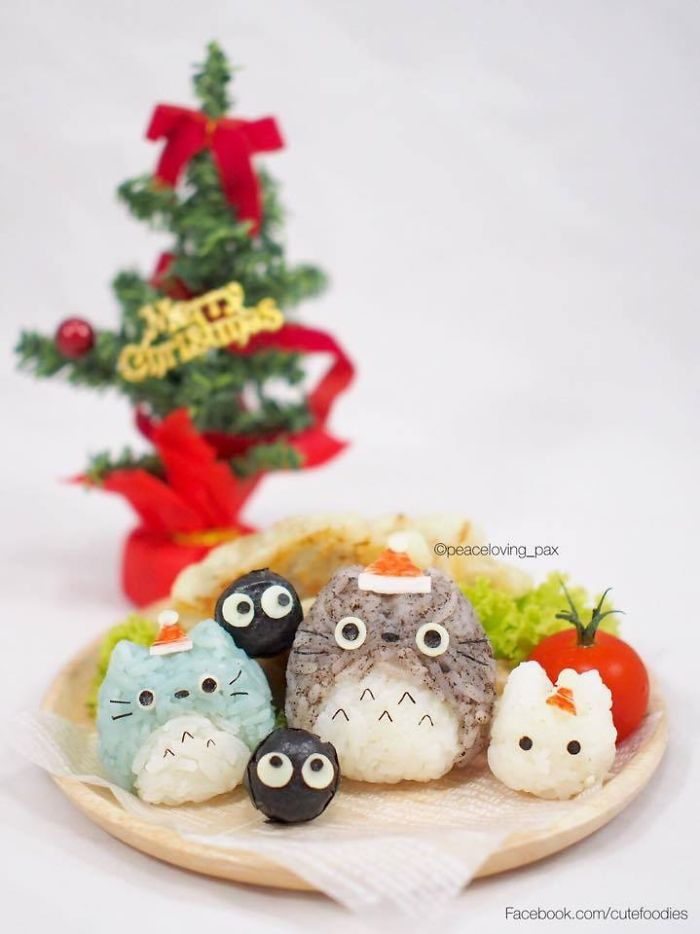 15-Totoro-Rice-Balls-Nawaporn-Pax-Piewpun-aka-Peaceloving-Pax-Food-Art-Inspiration-for-your-Bento-Box