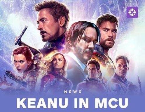 Keanu Reeves bakalan menjadi super hero di MARVEL Universe ?