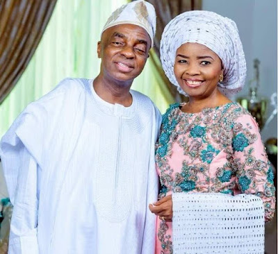 Bishop Oyedepo And Wife Celebrate 38th Wedding Anniversary With Throwback Photos (See)