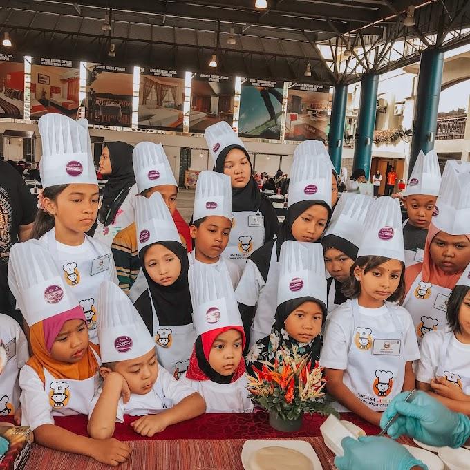 Junior Chef 2018 Ancasa Residences Port Dickson Gilap Bakat Kulinari Cef Kanak-Kanak