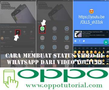 Cara Membuat Status Video di WhatsApp Dari Video YouTube
