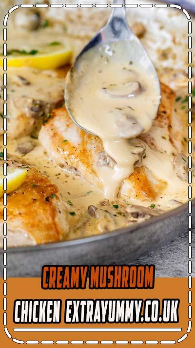 Creámy mushroom chicken is the perfect recipe when you need dinner on the táble fást. Delicious, eásy ánd á guáránteed fámily fávorite! Th...