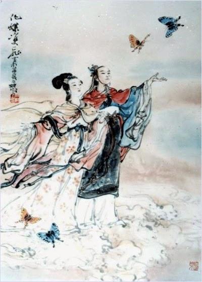 ม่านประเพณี (Butterfly Lovers) ตำนานรักกระบี่ผีเสื้อ