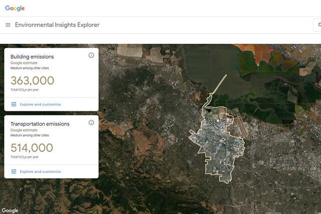 جوجل تطور أداة جديدة لفحص مستويات التلوث في المدن