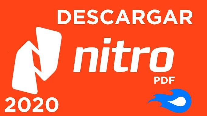 ✅ | DESCARGAR  NITRO PDF ENTERPRISE 2020 - ACTIVADO