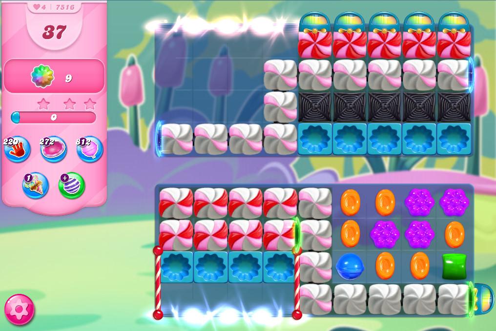 Candy Crush Saga level 7516
