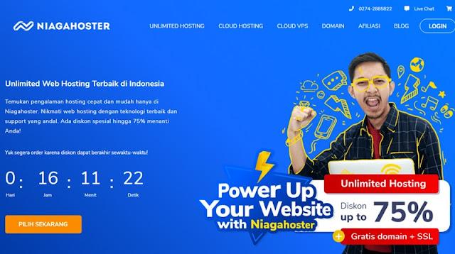 Promo Hosting Murah Niagahoster Oktober 2019 - niagahoster.co.id