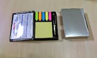 memo kulit, post it murah, barang promosi murah, seminar kit murah, pulpen promosi