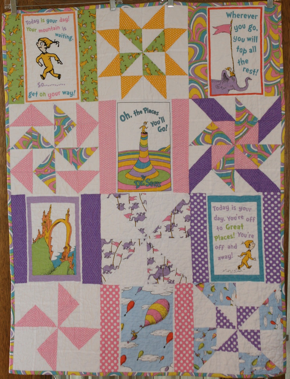 The Tilted Quilt Oh The Places Youll Go