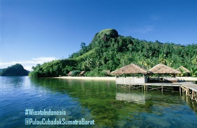 Cottage di Pulau Cubadak | Tempat Wisata di Sumatra Barat