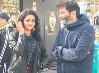 Wishing the coolest and energetic director TrivikramSrinivas garu a Happy birthday and a great year ahead PSPK25 ♥