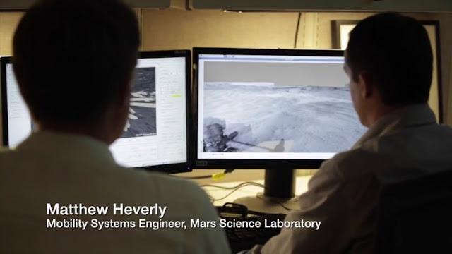 Robô da NASA Curiosity Rover é controlado com um computador rodando GNU/Linux!