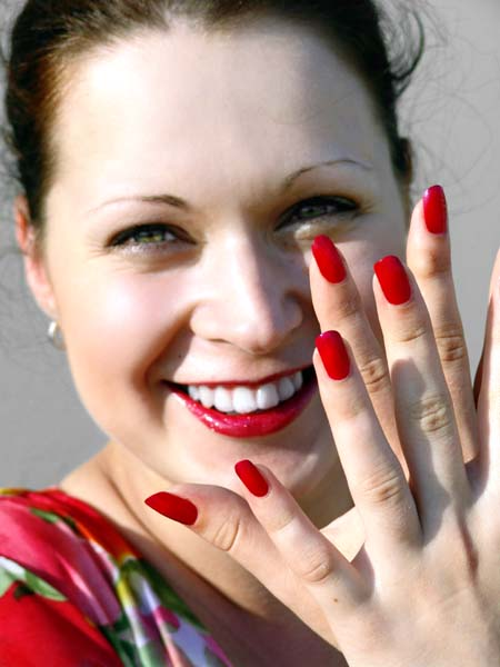 Beauty Best Nail Art: Cool Nail Art Fashion Red Colors