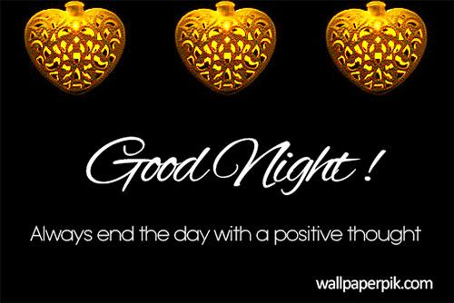 black good night image download free