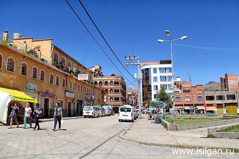 Город Копакабана. Боливия