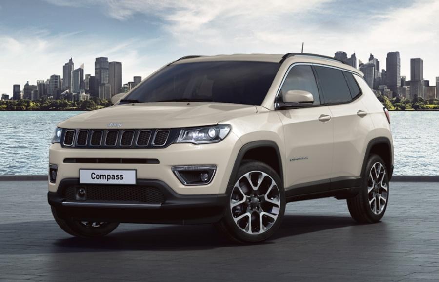 dantegts Jeep Compass Rose Strass en cristal authentique Logo Porte-cl/és Porte-cl/és Anneau porte-cl/és Porte-cl/és avec cordon 8,3/cm L x 3,2/cm W