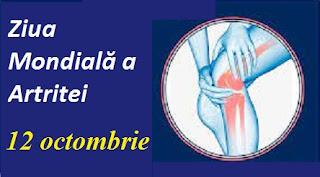 12 octombrie: Ziua Mondială a Artritei
