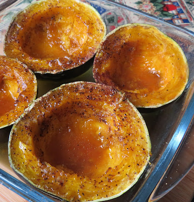 Maple and Butter Baked Squash